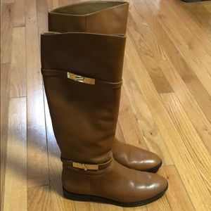 Vince Camuto brown leather boots size 38